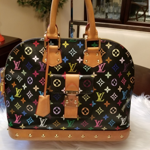 Louis Vuitton Handbags - Louis Vuitton Multicolor Alma GM